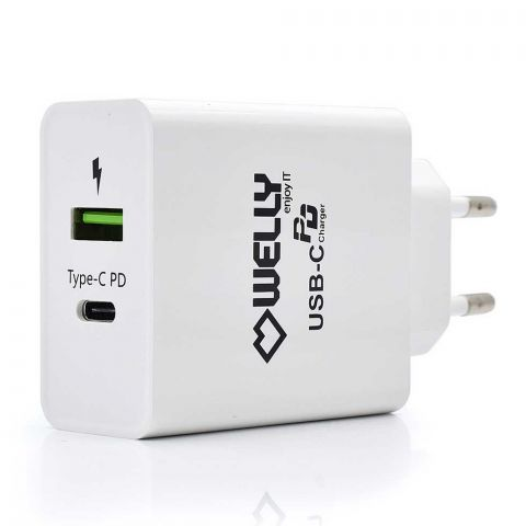 Type-C PD Wall Charger with Quick Charge 3.0