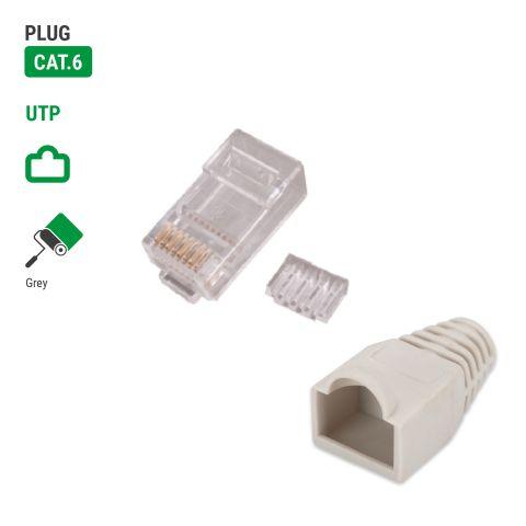 Kink Protection+ Cat.6 Plug