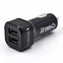 Dual Port Car Charger with Quick Charge 3.0
